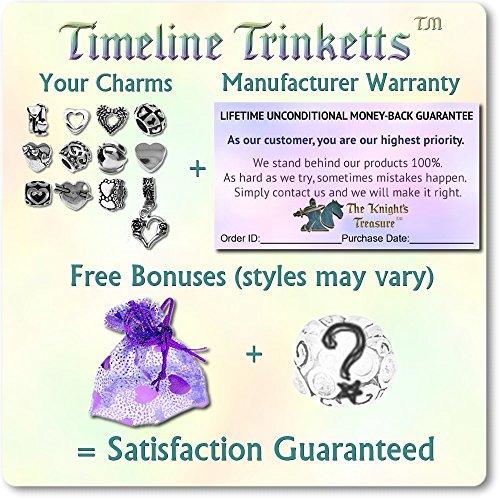 Timeline Trinketts Beads And Charms For Pandora Bracelets