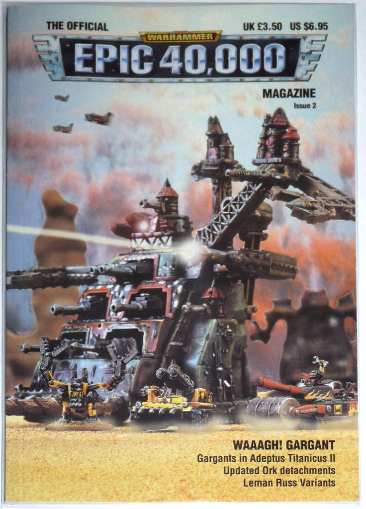 The Official Warhammer Epic 40000 Magazine, Issue 2 : Waagh