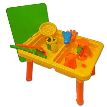 Beach Kinder Spieltisch Sandkasten Wassertisch Wasserspielzeug ...