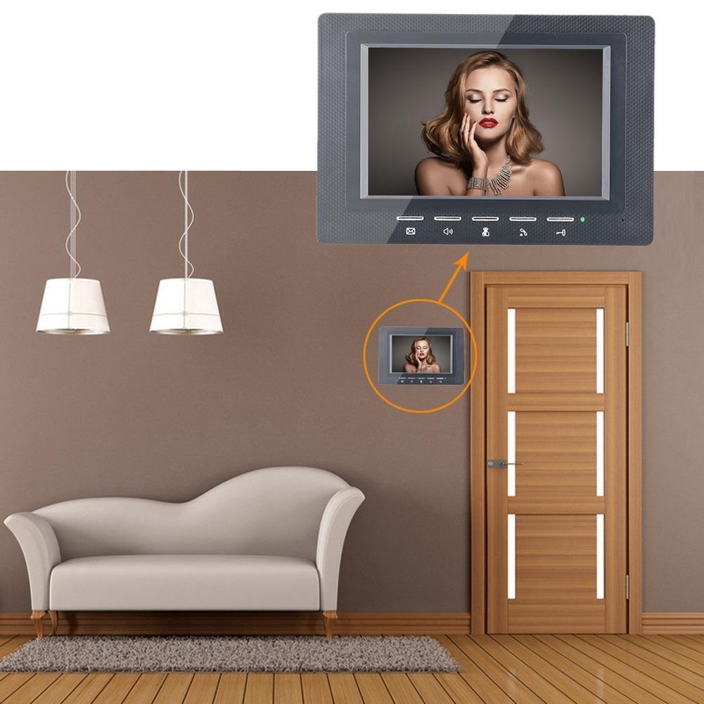 Awakingdemi 7 Inch Video Door Phone Doorbell Intercom 1-camera 1-monitor Night Vision by Awakingdemi (Image #2)