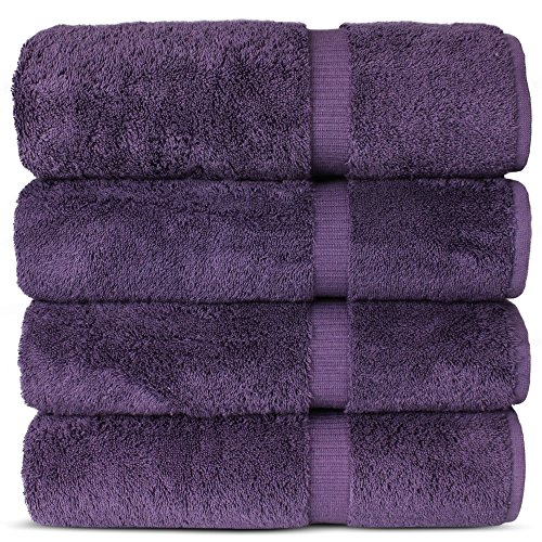 Luxury Premium long-stable Hotel & Spa Turkish Cotton 4-Piec