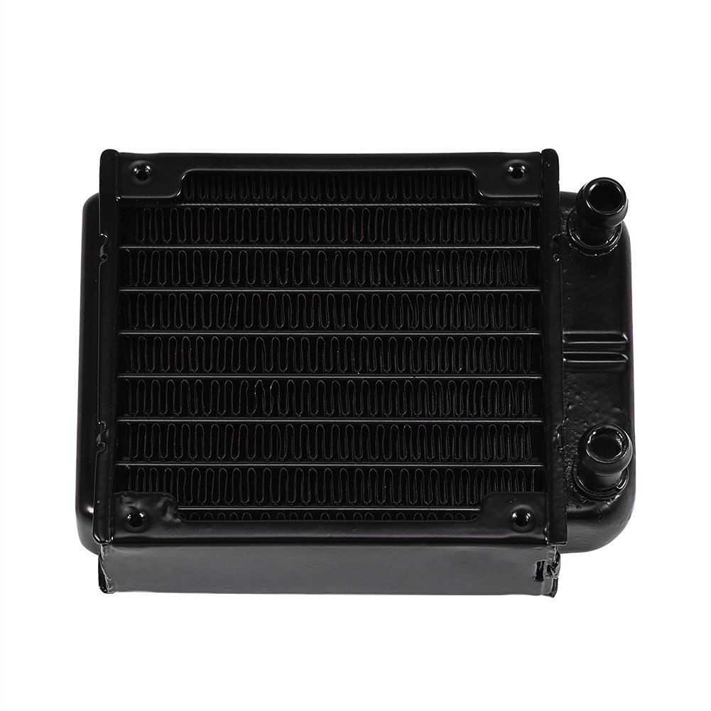 Yencoly PC Cooling Re//diator Aluminum Ra//diator Water Cooling Cooler Row 80MM for PC Computer CPU Heat Sink Cool CPU CPU Heat Sink