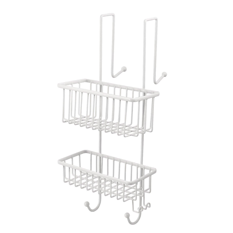 bremermann® Mensole portaoggetti per doccia e bagno, 2 cestini 6036