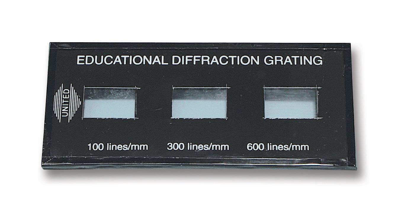United Scientific Demonstration Diffraction Grating