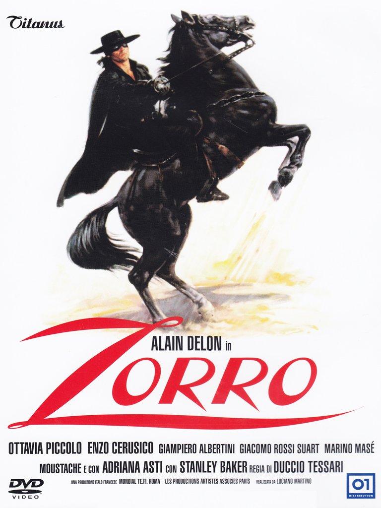 Amazon Com Zorro 1975 Alain Delon Ottavia Piccolo Duccio Tessari Movies Tv