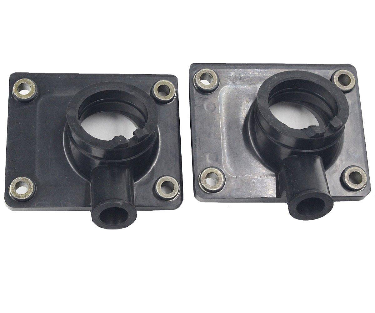 iFJF Rubber Intake Manifold Carburetor Boot Set for YAMAHA BLASTER YFS200 1988-2006 Pedro A Bailey