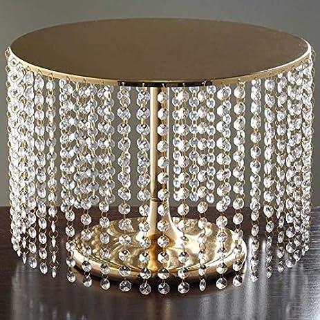 Amazon.com: Efavormart Gold Crystal Pendants Metal Chandelier ...