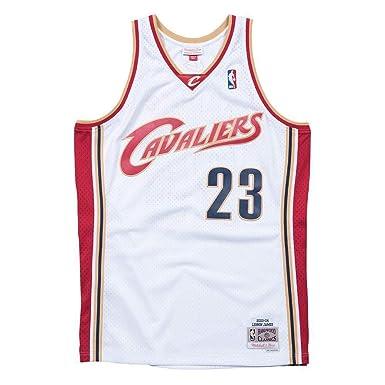 Mitchell & Ness Cleveland Cavaliers Lebron James Camiseta sin Mangas: Amazon.es: Ropa y accesorios