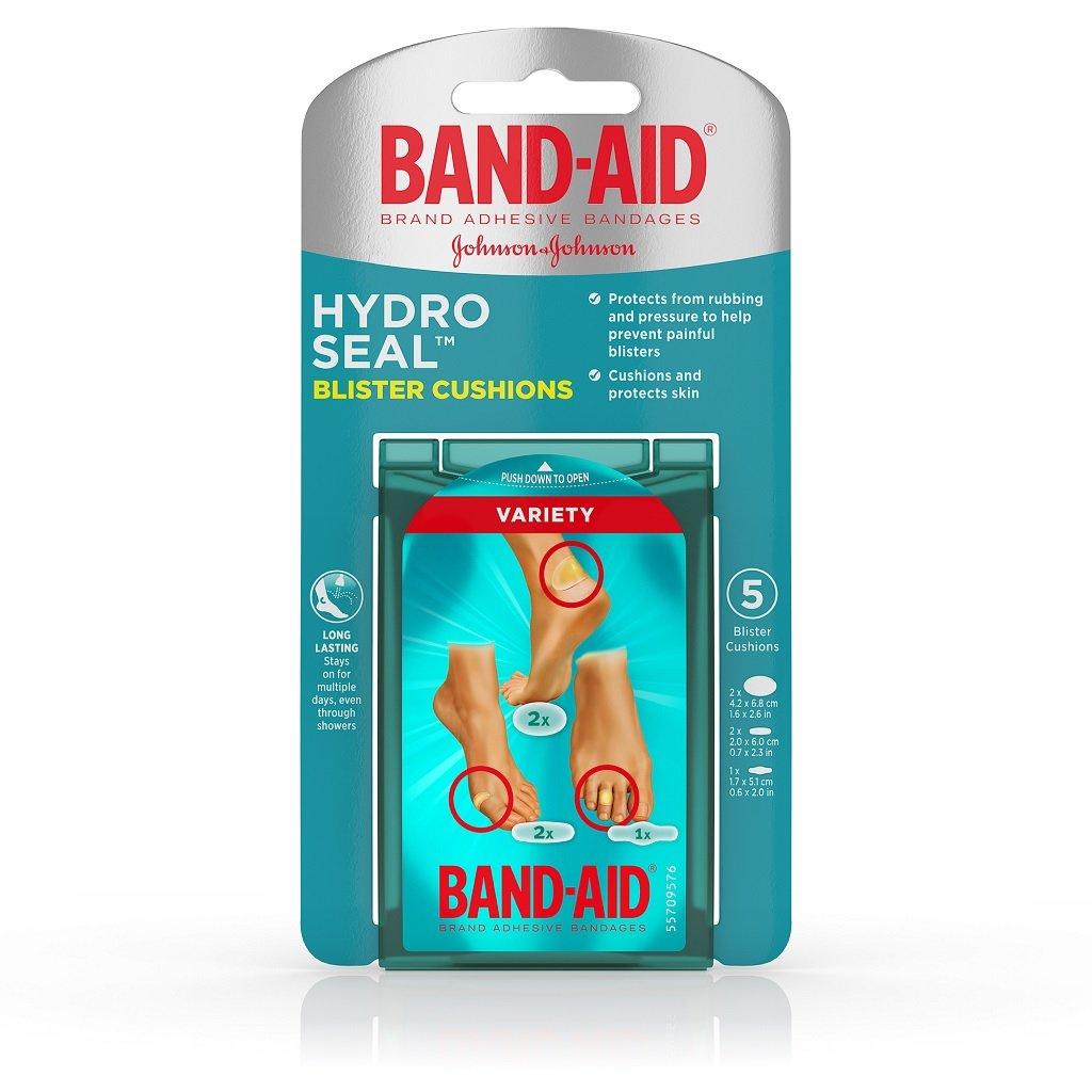 Band-Aid ハイドロシールブリスタークッションバラエティパック、5カウント各(3パック)   B07B8B2Q2Y