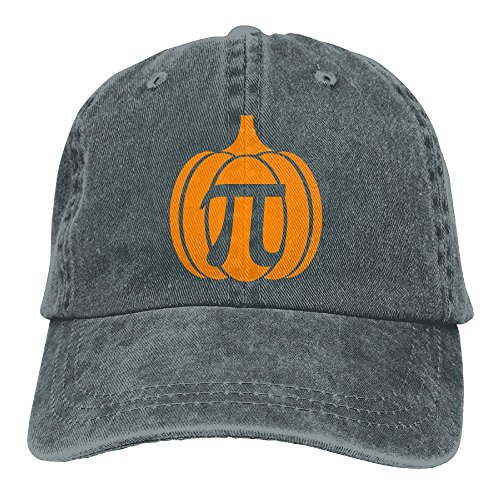 Qbeir Pumpkin Adjustable Adult Cowboy Cotton Denim Hat Sunscreen Fishing Outdoors Retro Visor Cap (Toddler Halloween Coloring Pages Printable)