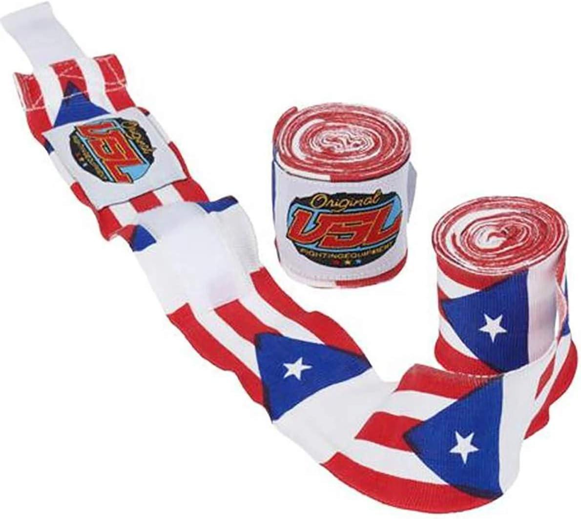 Bandera de las Naciones Boxeo, MMA, Muay Thai, vendajes de mano por VSL Fattle (EE.UU., Canadá, China, Tailandia, Israel, Ucrania, Italia, Francia, Puerto Rico, Gran Bretaña), 180