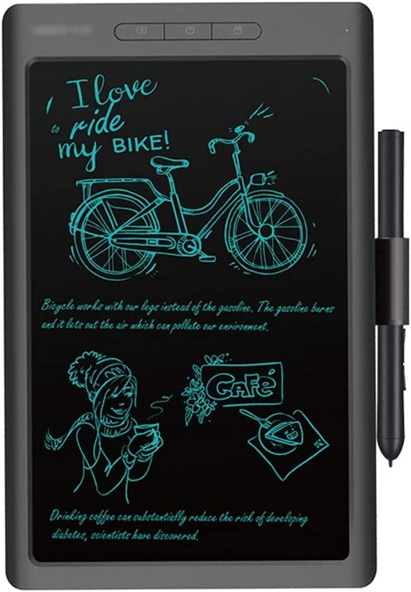 Color : Black , Size : 10 inches Computer Graphics Tablets LCD Writing Tablet For Kids And Adults 10 Inches Electronic Drawing And Writing Board For Kids And Adults At Home School And Office
