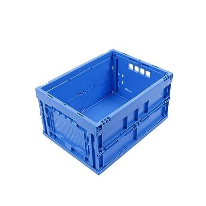 CAJA PLEGABLE 20L, caja plegable de plastico, pequeña caja de transporte, cesta de
