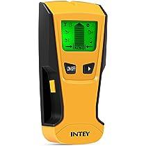 INTEY - 3 EN 1 Pantalla LCD Detector De Pared para Detecta AC Cable ,Metal ...