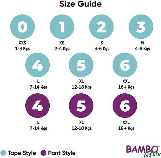 Bambo Nature Pantalon dentra/înement de qualit/é sup/érieure 3,74 kg taille 6