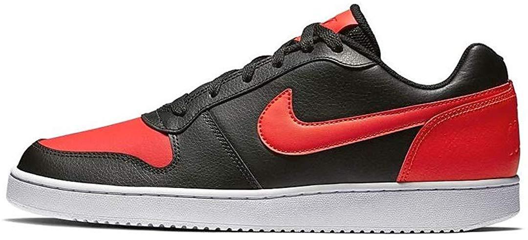 Nike Mens EBERNON Low Black Habanero