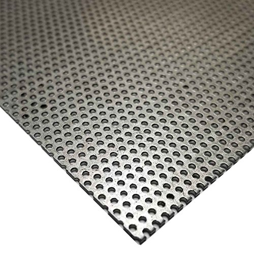 Online Metal Supply Steel Perforated Sheet, Thickness: 0.036 (20 ga.), Width: 24
