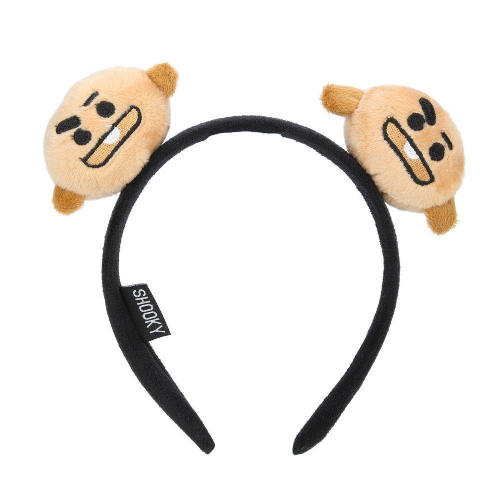 JHion Cute Cartoon KPOP BTS BT21 Bangtan Boys Headbands Hairband Hot Gift for A.R.M.Y (H01)