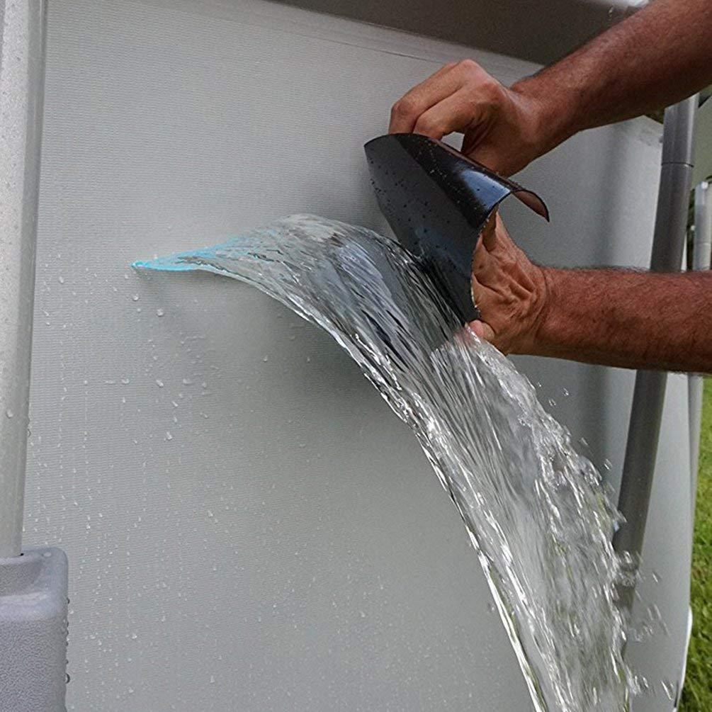 152cm TAOHOU S/úper Fuerte Flex Cinta Impermeable para reparaci/ón de Fugas Cinta para Manguera Tuber/ía Grifo de Agua Claro 10cm