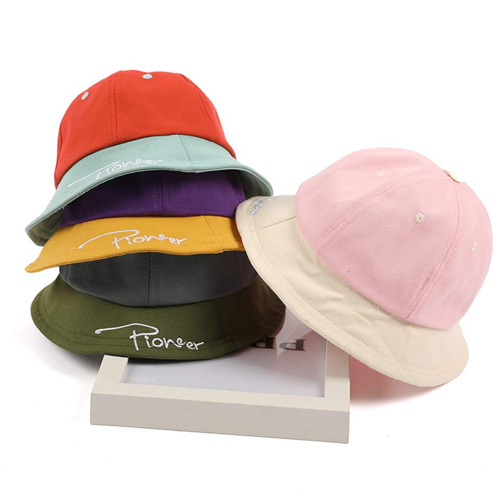 Farmerl Sunscreen Boy Girl Color Stitching Cotton Cap Summer Casual Hat