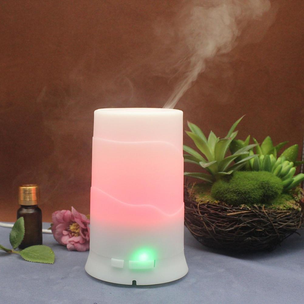 ZTYR Bunte Ultraschall Haushalt ätherisches Öl Diffusor Aromatherapie Luftbefeuchter