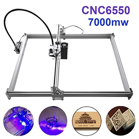 7000mw Laser Engraving Machine, TopDirect 6550 Mini USB CNC Router