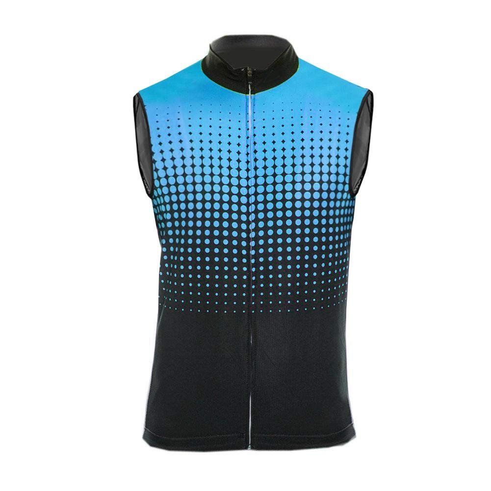 Uglyfrog® Weste Radweste Windweste Jacke Tour de France ärmellos Winter Fleece Atmungsaktiv für Fahrrad MTB Vest 27-DEHerrenZR27
