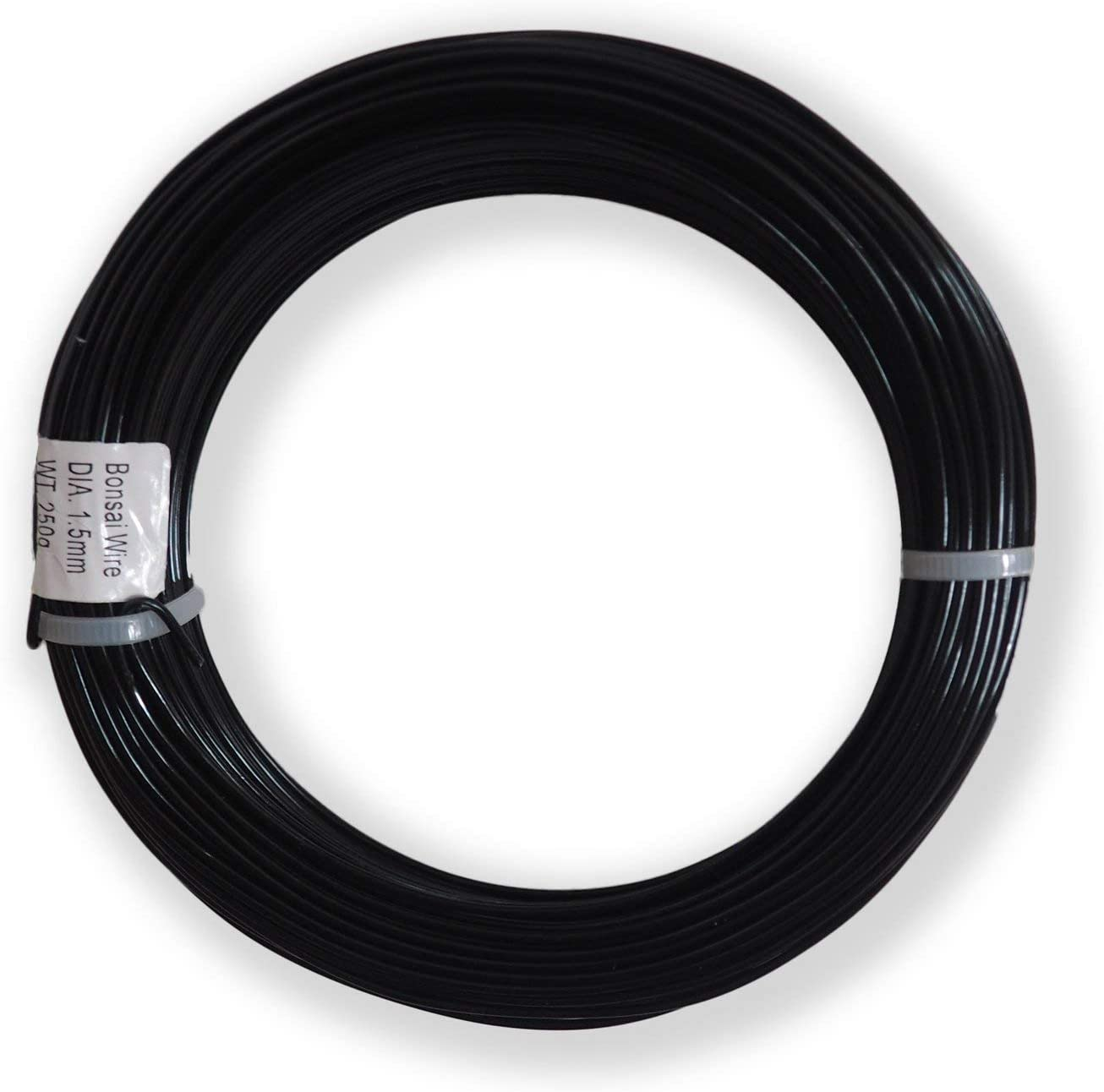 Amazon Com Anodized Aluminum 1 5mm Bonsai Training Wire 250g Large Roll 170 Feet Choose Your Size And Color 1 5mm Black Garden Outdoor