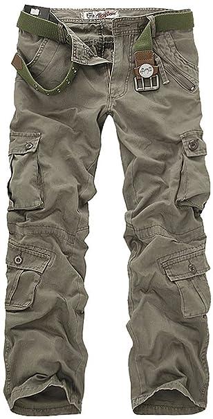 Amazon.com: Leward – Pantalones de combate, camuflados ...