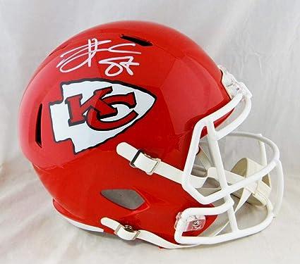 1384e5d5 Amazon.com: Travis Kelce Autographed Kansas City Chiefs F/S Speed ...