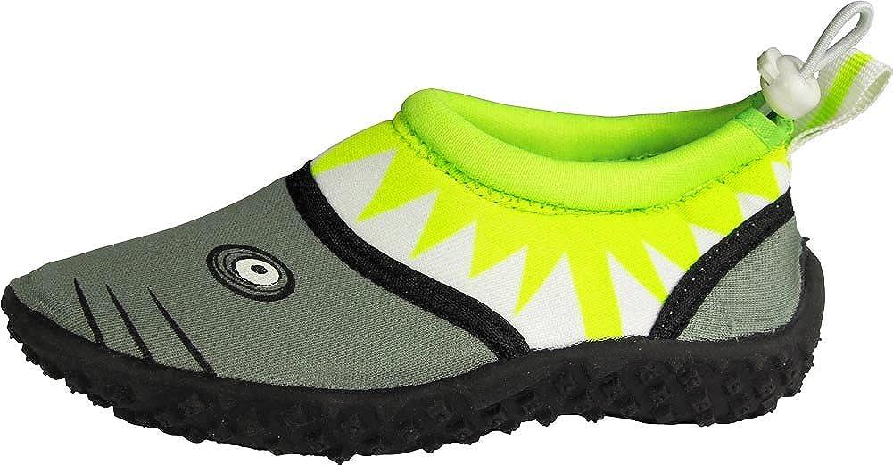 NORTY Toddler Slip-On Water Shoes for Boys /& Girls Childrens Aqua Socks Shark Style