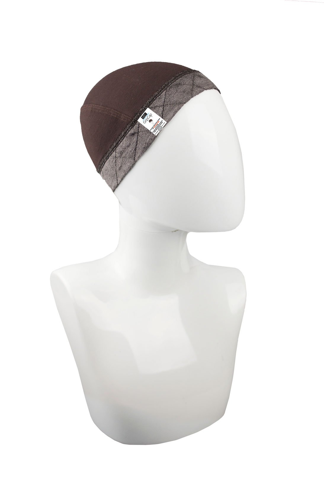 Milano Collection GripCap All in One WiGrip Comfort Band & Wig Cap in Brown by MILANO COLLECTION (Image #1)