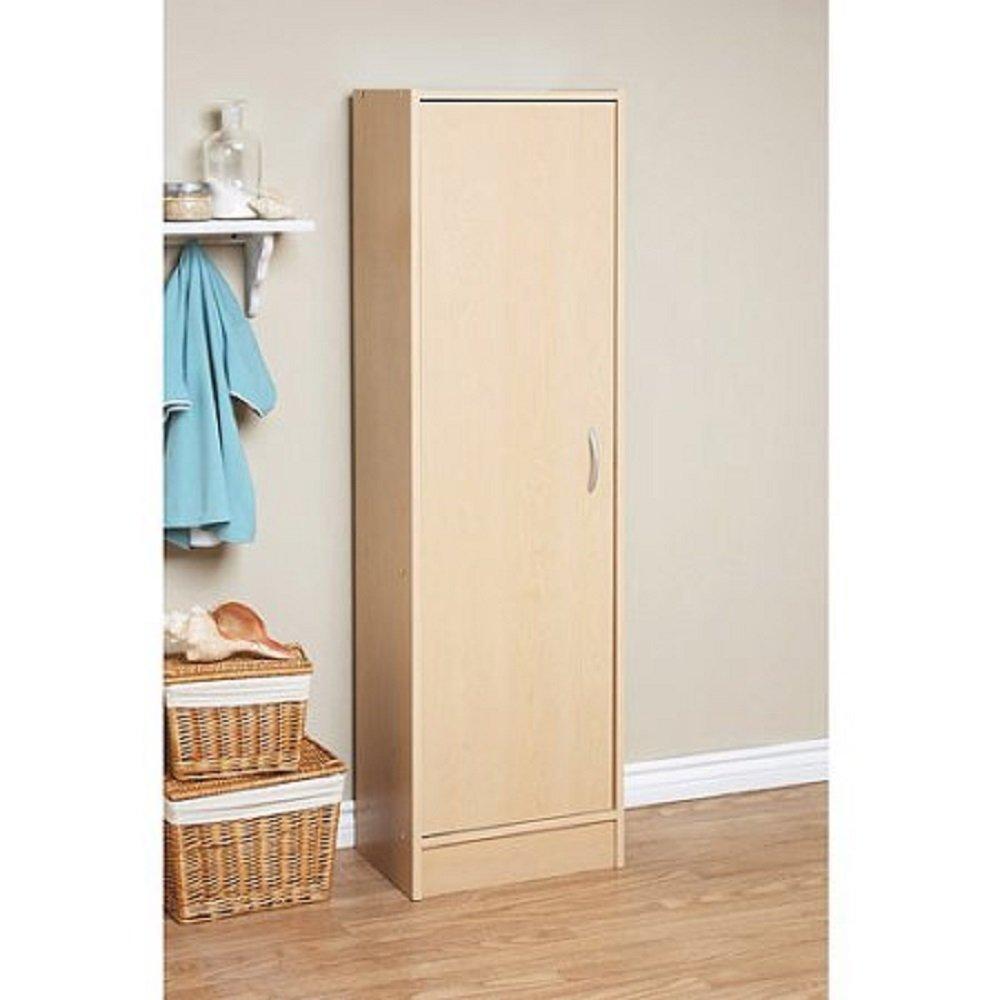 Orion 4 Door Kitchen Pantry Amazoncom Mylex Pantry Single Door Storage Cabinet Cupboard