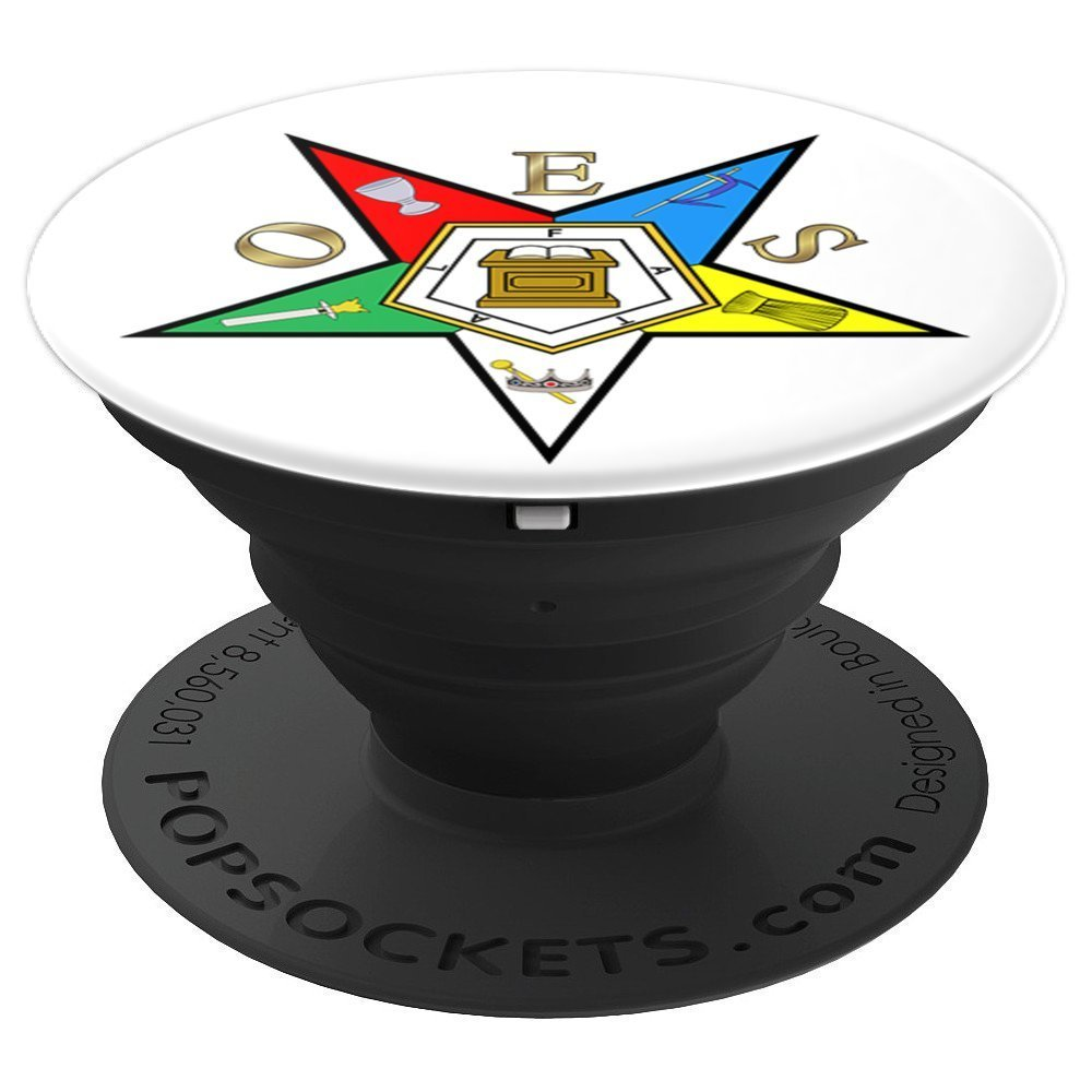 Order of the Eastern Star OES - PopSockets Grip and Stand for Phones and  Tablets