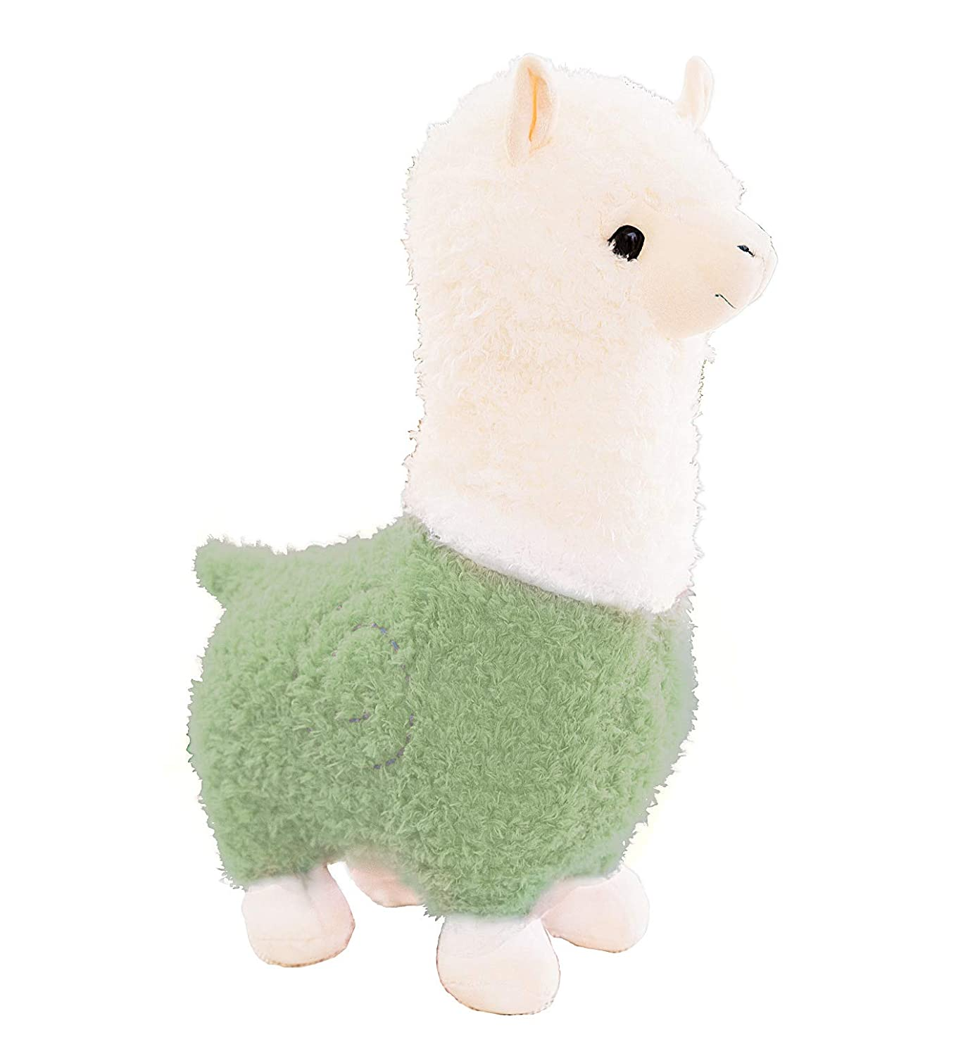 Cute Pink 14 Llama Stuffed Animal Large 14 Doll Plushie Hug Pillow Soft Fluffy Cushion Super Kawaii Gift for Birthday Girls and Lovers Washable Spring Country Alpaca Plush Toy