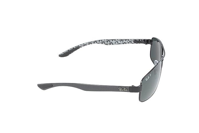 5bbb793b90 Amazon.com  Ray-Ban METAL UNISEX SUNGLASS - BLACK Frame CRYSTAL POLAR GREEN  Lenses 62mm Polarized  Ray-Ban  Clothing