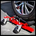 Car Truck Wheel Dolly Vehicle Trailer Positioning Hydraulic Foot Pump Moving Auto Tire Lift 1 Pair 2500 lb - House Deals