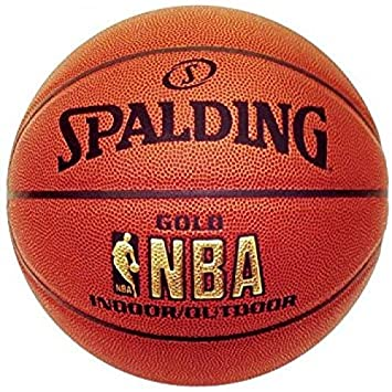 Spalding NBA Gold Basketball Indoor outdoor 0d53517b5