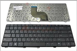 New Laptop Replacement Keyboard for Dell Inspiron 14V 14R N4010 N4020 N4030 N5030 M5030 15R Series US Layout V100226CK1 V100830AS1 01R28D NSK-DJD01 AEUM8U00110 1R28D 90.4EK07.S01 Black N4010