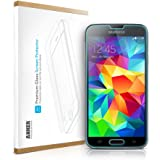 [Scratch Terminator] Anker Tempered-Glass Screen Protector for Samsung Galaxy S5 [2014] Galaxy SV Premium Crystal Clear - Industry-High 9H Hardness