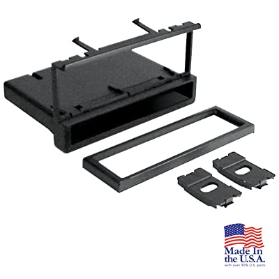 Scosche FD1327B Single DIN Installation Dash Kit for Select 1995-Up Ford/Lincoln/Mercury Vehicles: Car Electronics