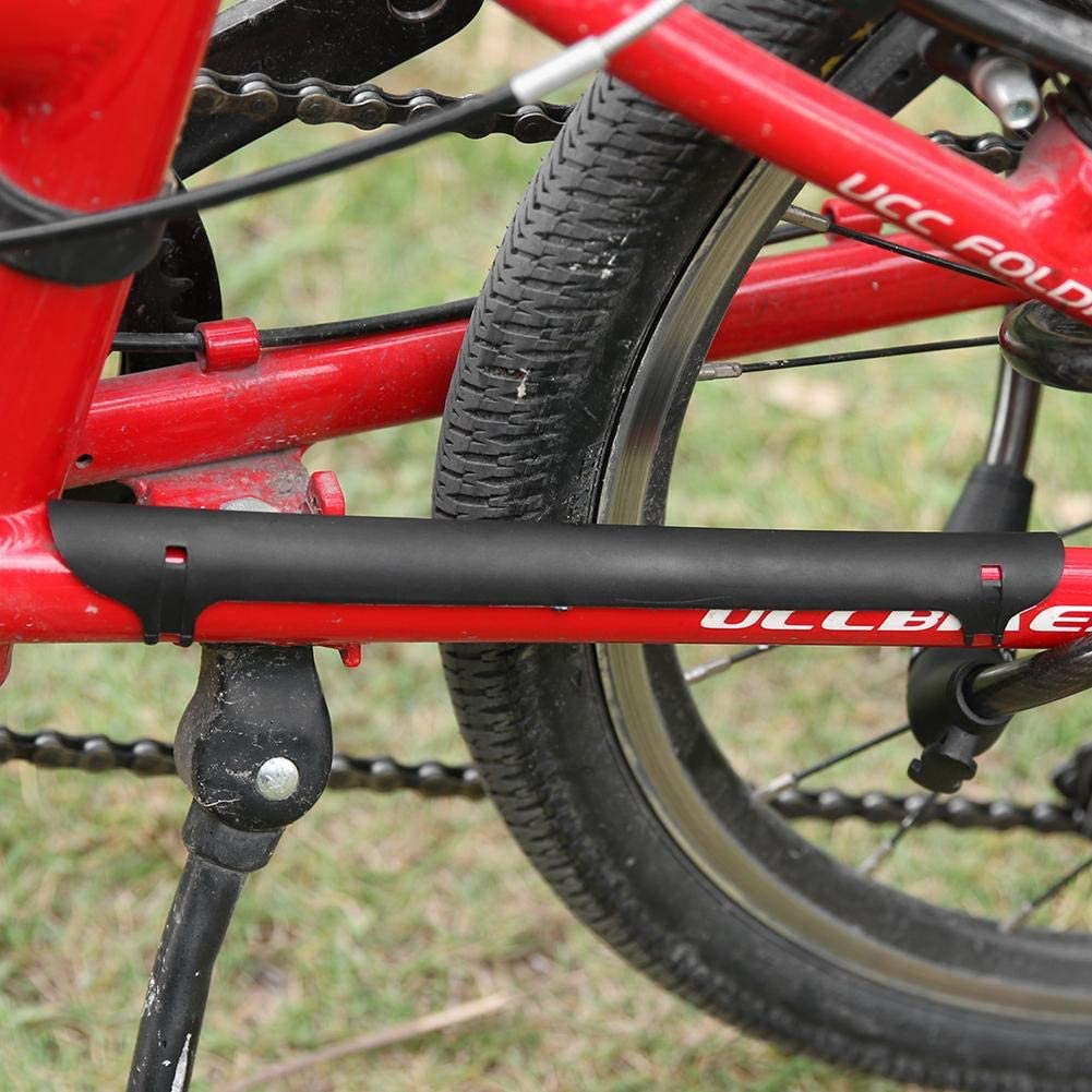 Ryoizen Plastic Bicycle Chain Protection Cycling Bike Frame Protector Chain Chainstay Rear Fork Guard Cover Pad Sticker