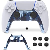BEJOY PS5 Controller Faceplates Accessories with 6 Thumbs Grips, Replacement Decoration Controller Shell for Playstation…