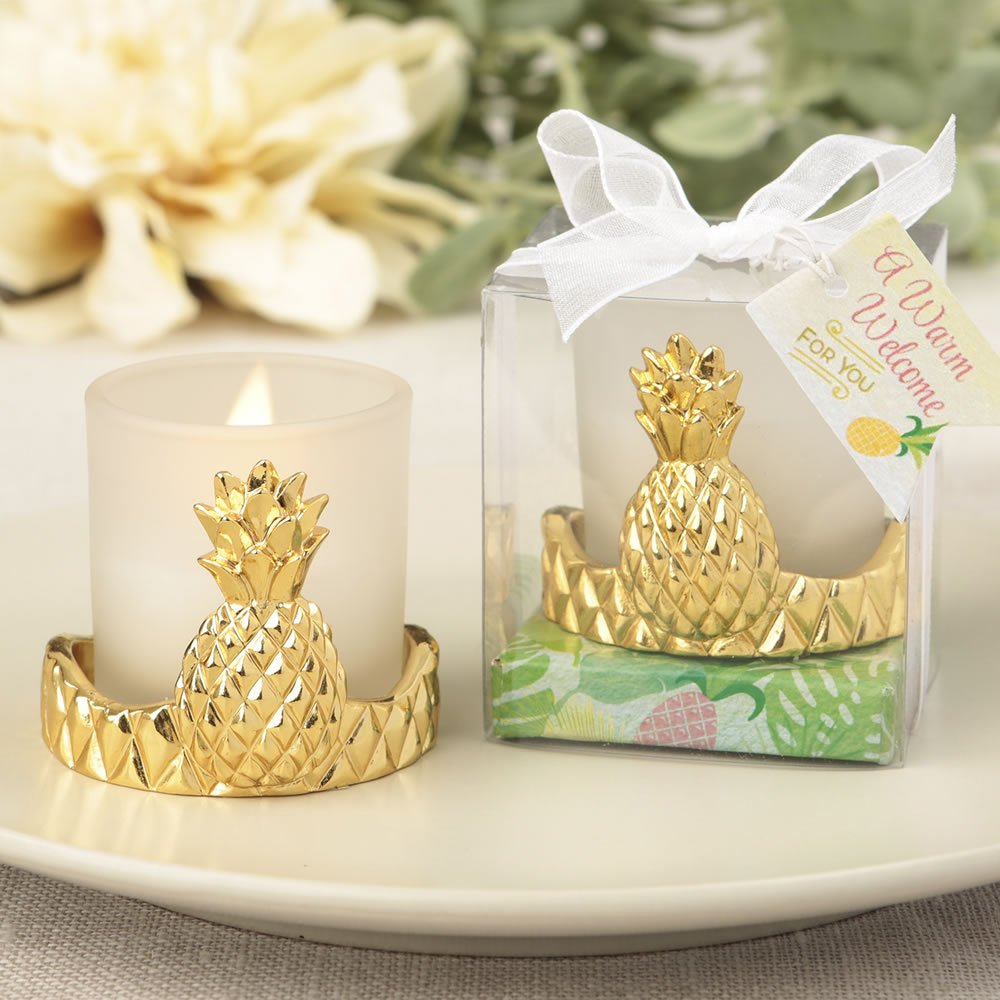84 Warm Welcome Pineapple Design Votive Candle Holders