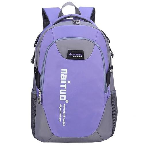 0e699a9ed1 Sanback Durable Blank Kids Book Bag School Backpacks for Girls Purple