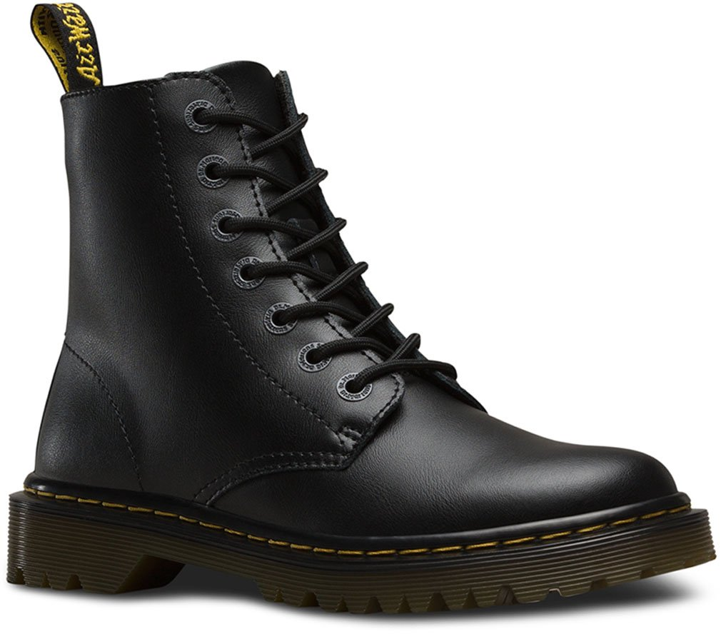 Dr. Martens - Womens Luana 7 Tie Boot, Size: 7 B(M) US / 5 F(M) UK, Color: Black