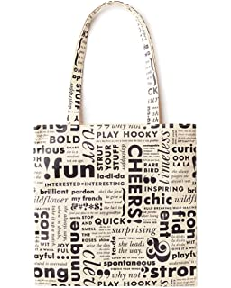 6d2c0614d Amazon.com: Kate Spade New York Canvas Book Tote (Floral): Kitchen ...