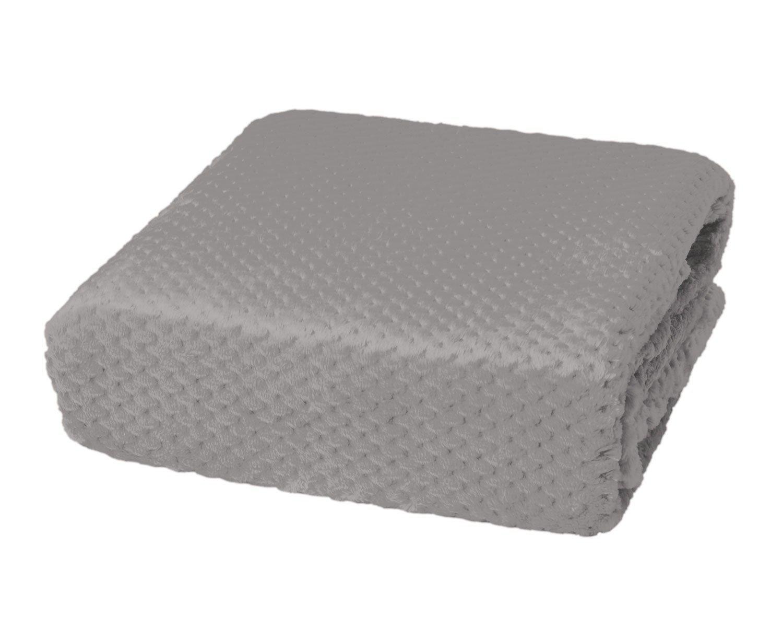 (Twin, Smoke) - Honeycomb Shimmersoft Berkshire Blanket Smoke Twin B01MR0VTGM スモーク ツイン