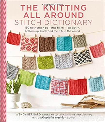 Book The Knitting All Around Stitch Dictionary