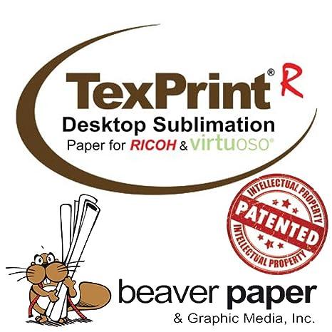 Amazon com : TexPrintR Sublimation Paper, 13